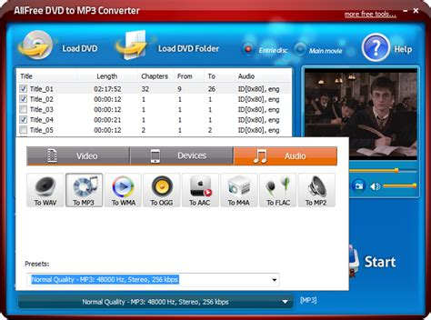 format audio download all free dvd to mp3 converter free dvd to mp3 converter