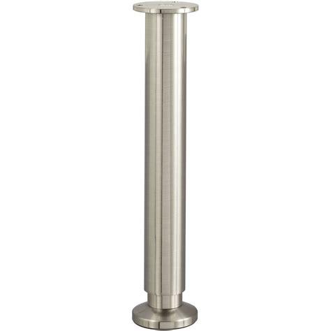 pied de lit sommier cylindrique r 233 glable aluminium