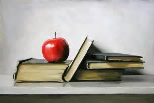Student Desk With Bookshelf Art Wednesday Books And Reading