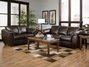 ashley furniture leather living