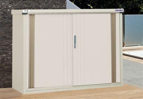 armoire métallique basse cuisine armoire jardin basse ou haute keter armoire exterieur pour balcon armoire de