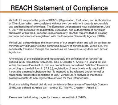 reach certification letter reach definition what is reach find reach companies