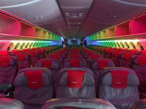 my review of the air 787 premium cabin pizza