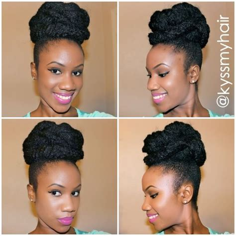 marley hair buns 3 quick and easy marley hair bun tutorials black girl