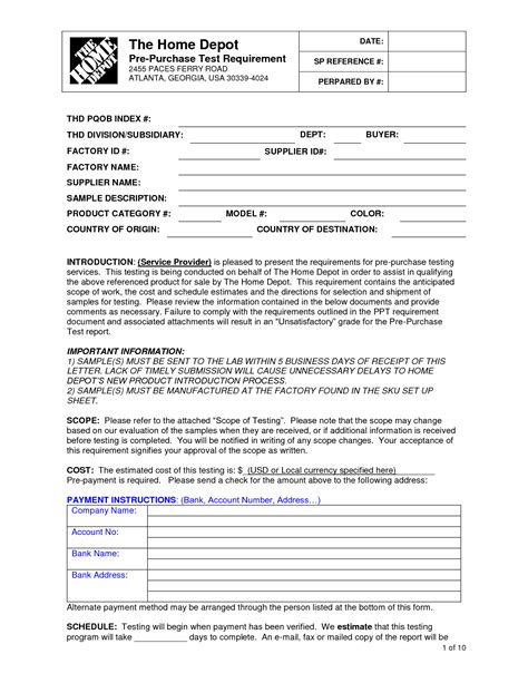 Best Example Of Resume Format by Home Depot Job Application Jvwithmenow Com