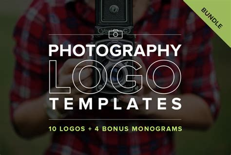 Photography Logo Template photography logo templates bundle logo templates on creative market