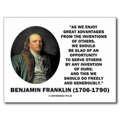 benjamin franklin biography and inventions famous inventing quotes quotesgram