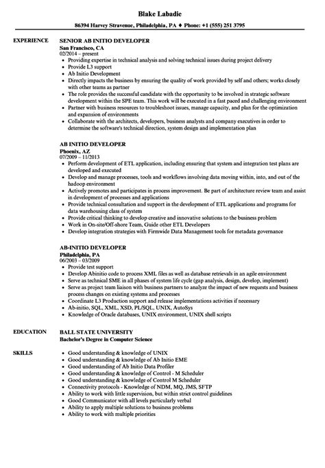 Technical Project Manager Resume Sle India by Ab Initio Developer Resume Sanitizeuv Sle