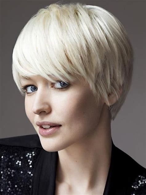 latest short haircuts  fringe bangs