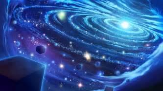 Solar System Wall Mural light art blue space star universe digital galaxy hd