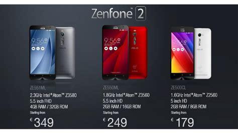 Zenfone 2 Ram 4gb asus zenfone 2 luncurkan ram 4gb dengan harga terjangkau