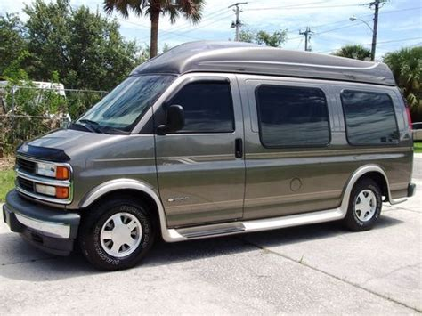 auto air conditioning service 2001 chevrolet express 2500 engine control sell used 2001 chevrolet express regency hi top conversion van in sanford florida united