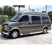 Sell Used 2001 CHEVROLET EXPRESS REGENCY HI TOP CONVERSION