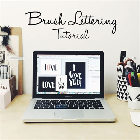 brush lettering tutorial photoshop 95 besten letter lover bilder auf pinterest