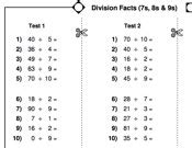 maths key stage 2 division