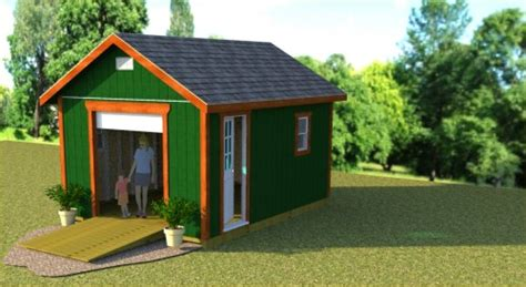 12x16 Gable Shed Plans by Plans For A 12x16 Gable Shed With 6 Roll Up Shed Door And