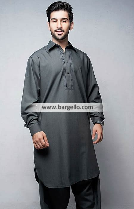 Baju Koko Colour Grey bonanza grey embroidered shalwar kameez birmingham uk