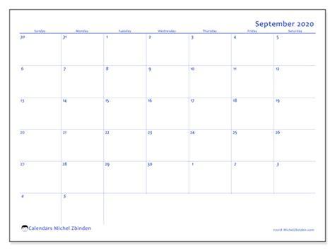 september  calendars ss michel zbinden en