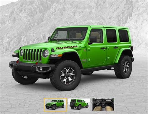 built jeep rubicon 2018 jeep wrangler jl build and price configurator now