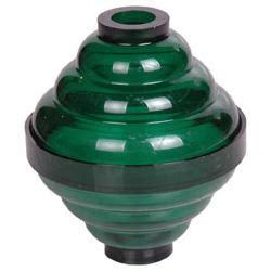 255 green plastic ball