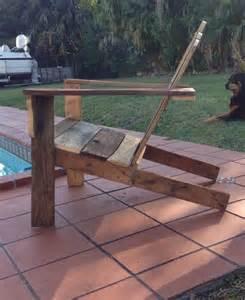 handmade adirondack chairs diy rustic pallet adirondack chair pallet furniture diy