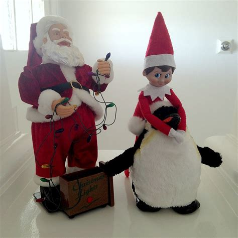 On The Shelf Santa by With On The Shelf Diy Decorator