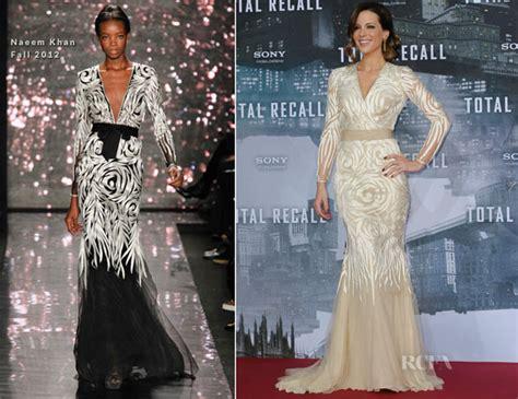 Catwalk To Carpet In Naeem Khan by Kate Beckinsale In Naeem Khan Total Recall Berlin