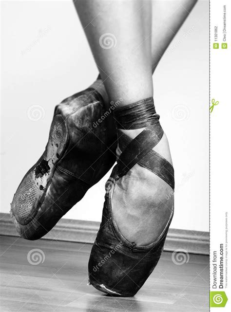 Ballet Shoes stock photo. Image of theater, ballet