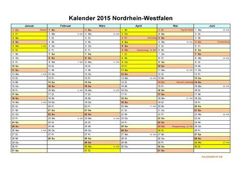 kalender  nordrhein westfalen kalendervip