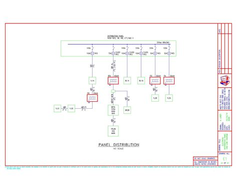 autocad electrical breaker panel diagram