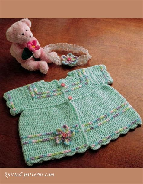 knitting pattern sites free crochet baby sacque