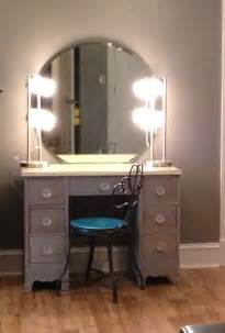 Vanity Mirror With Lights And Table Bedroom Classic Bedroom Makeup Vanity Idea Designed With