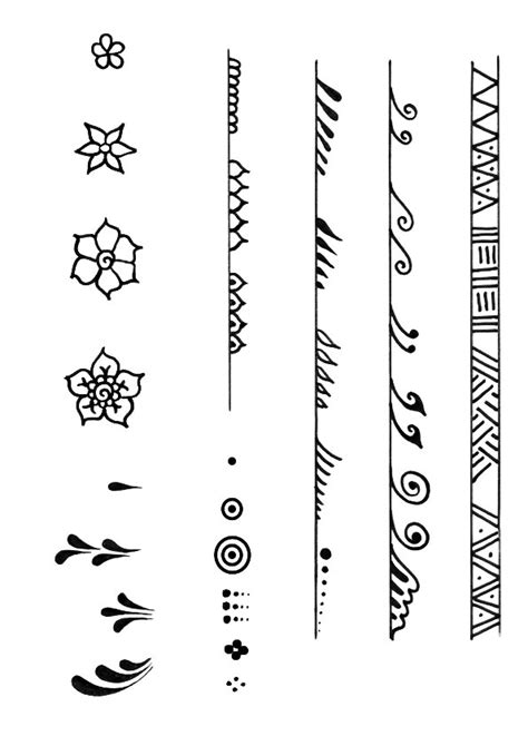 henna tattoo aachen pictures easy patterns to draw beginners drawings