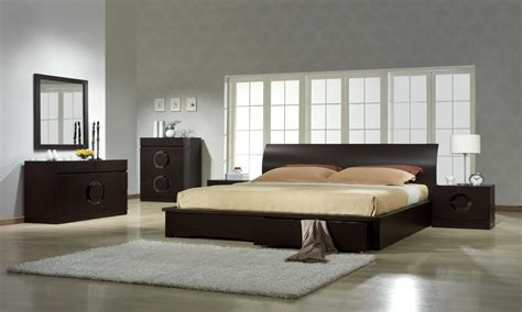 Platform Bedroom Set Modern Contemporary Italian Bedroom Modern Furniture Set