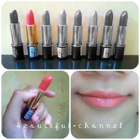 Wardah Matte Lipstik No 04 Orange lipstick warna beautiful channel viva lipstick no 5