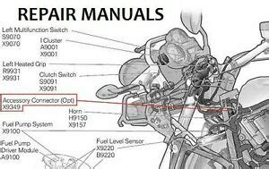 Bmw R1200gs Adventure Service Repair Manual Workshop Euro