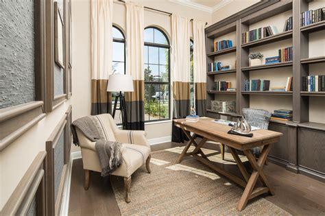 coastal modern beach style home office miami