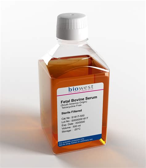 Tetracycline Shelf by Fetal Bovine Serum Fbs South America Tetracycline Free