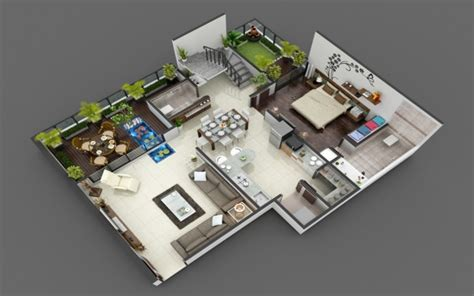 luxurious floor plans 3d luxurious home floor plan arch student