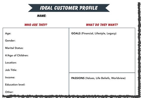 Ideal Client Profile Worksheet by How To Finally Nail Your Target Audience Blogging