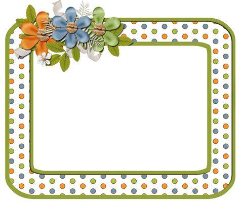 Frame Scrapbook frame png scrapbook elements free orange dot digi