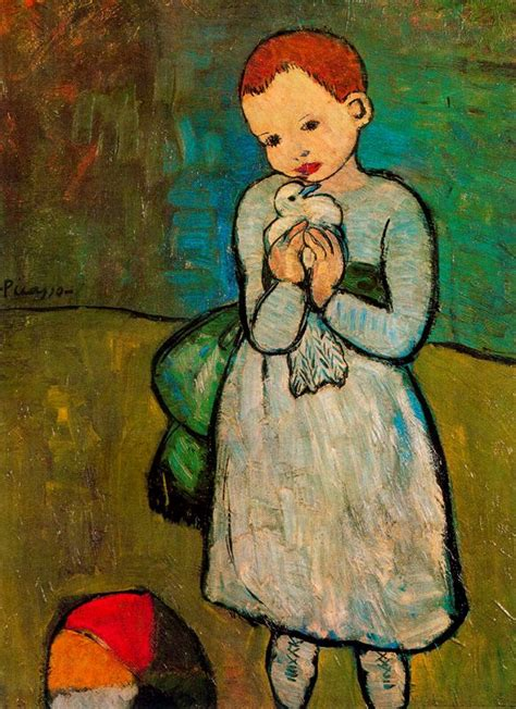 picasso paintings child with a dove pablo picasso october 25 1881 april 8 1973 ii