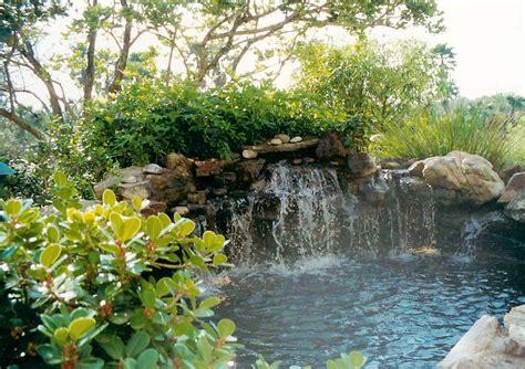 Pool Maintenance custom koi pond and waterfall