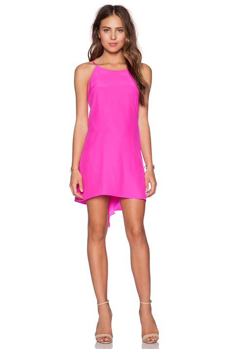 Dress Cello amanda uprichard cello dress in pink lyst