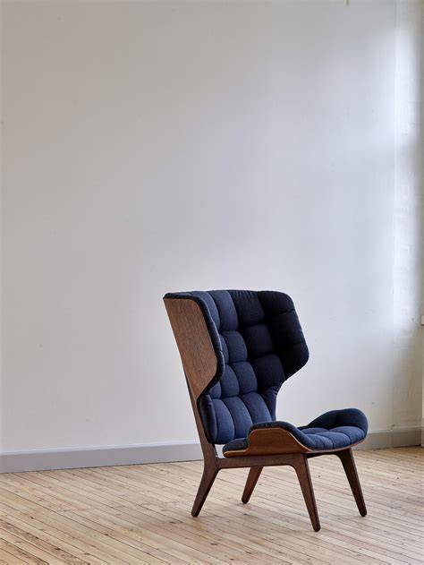 of the chair mammoth chair limited edition black fabric kvadrat basel