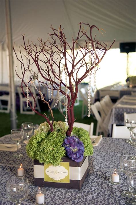 mini tree centerpieces wedding ideas - Mini Tree Centerpieces