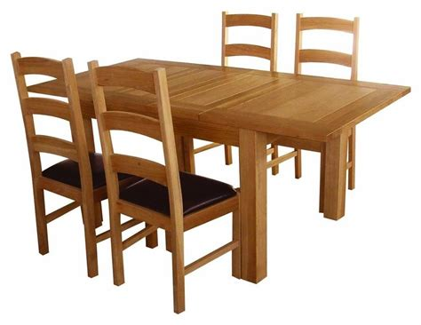 Solid Oak Dining Table And Chairs Marceladick Com Dining Table With Chairs