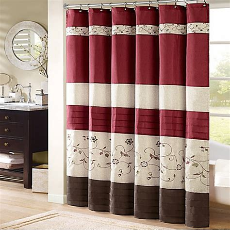 bed bath and beyond madison madison park serene 72 inch x 72 inch embroidered shower