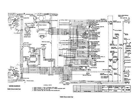 would anyone happen to have a wiring diagram of the engine department on a 1956 chevy i think