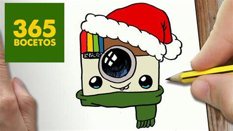 imagenes kawaii instagram como dibujar logo instagram para navidad paso a paso